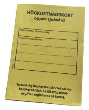 frikort sjukvård