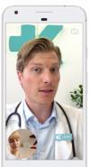 läkare i mobilen